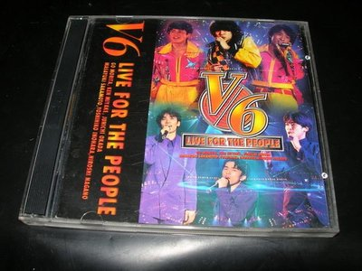 ok   V6 - LIVE FOR THE PEOPLE   VCD   1997