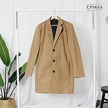CPMAX 韓系帥歐爸毛呢大衣外套 男長版大衣 韓版大衣 長版外套 男大衣 長版大衣 男生大衣 毛呢外套 C111