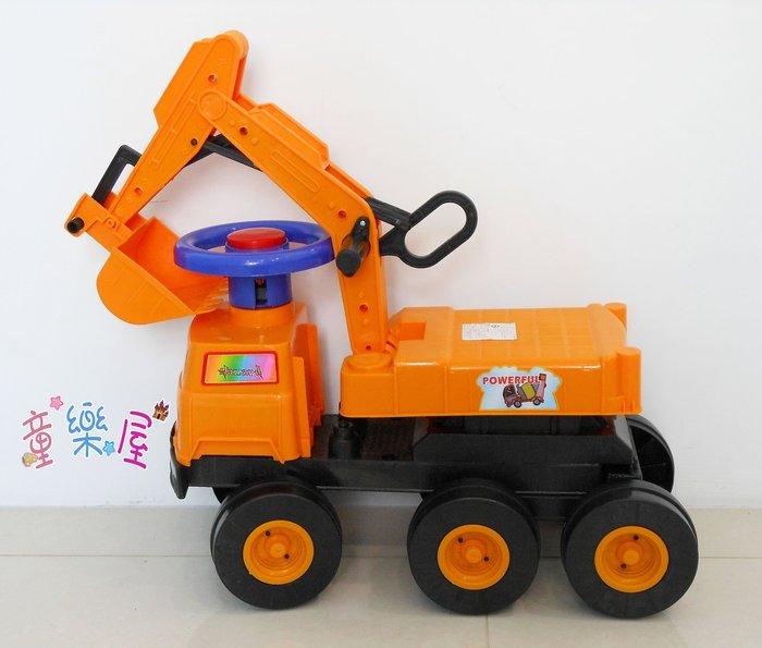 高雄玩具~兒童挖土機-兒童騎乘~怪手玩具~滑步車-學步車-兒童怪手~大型兒童挖土機~生日禮物~高雄可自取