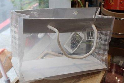 精緻蛋糕塑膠手提袋_03412◎精緻.蛋糕.塑膠.手提.手提袋.透明袋.包裝.提袋.