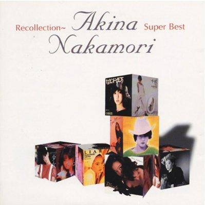 中森明菜 - Recollection ( 2CD ) 日版已拆近全新 ~ 有側標