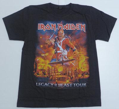 【Mr.17】鐵娘子 Iron Maiden 樂團 Legacy of the搖滾T恤短袖 t-shirt (H838)