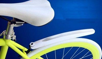 《意生》時尚八色反光快拆檔泥板 自行車輕巧型反光土除16吋~28吋適用 雲林縣