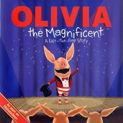 *小貝比的家*OLIVIA THE MAGNIFICENT /平裝書/3~6歲
