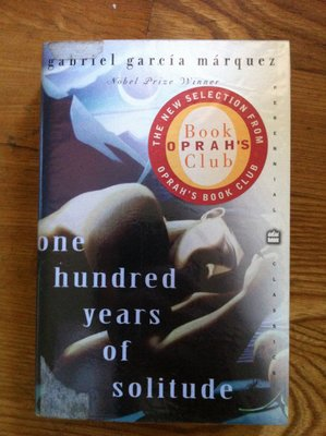 One hundred years of solitude GABRIEL GARCIA MARQUEZ 百年孤寂