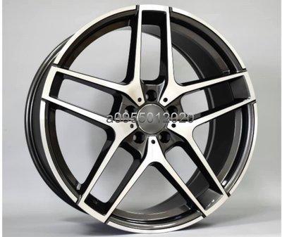 全新類BENZ AMG原廠式樣5孔112 19吋鋁圈W204/W205/W207/W212/W213/W220/W221