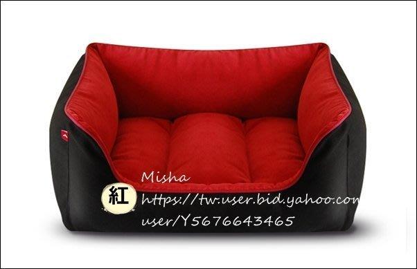 ✿ Misha ✿ 彩虹加厚四角寵物窩寵物窩狗窩狗床 全可拆洗 四方 貓狗睡墊床 獨立內墊 現【L號賣場】