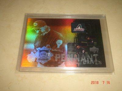 美國職棒 Diamondbacks Randy Johnson  2000 UD Pennant Driven  球員卡