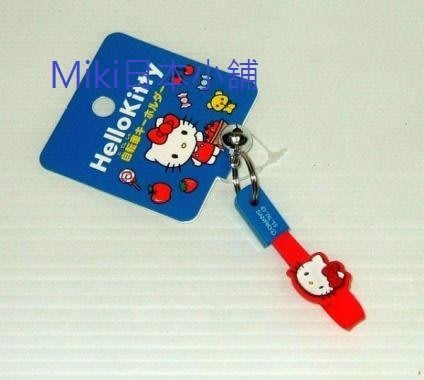 *Miki日本小舖*日本三麗鷗 Hello kitty 凱蒂貓造型鑰匙圈