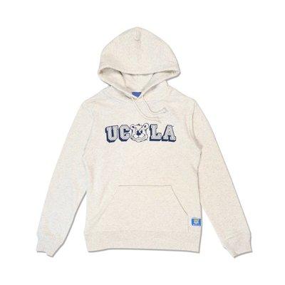 Freaky House-日本Audience UCLA Bear Hoodie小熊美國大學連帽衛衣帽衫T燕麥色