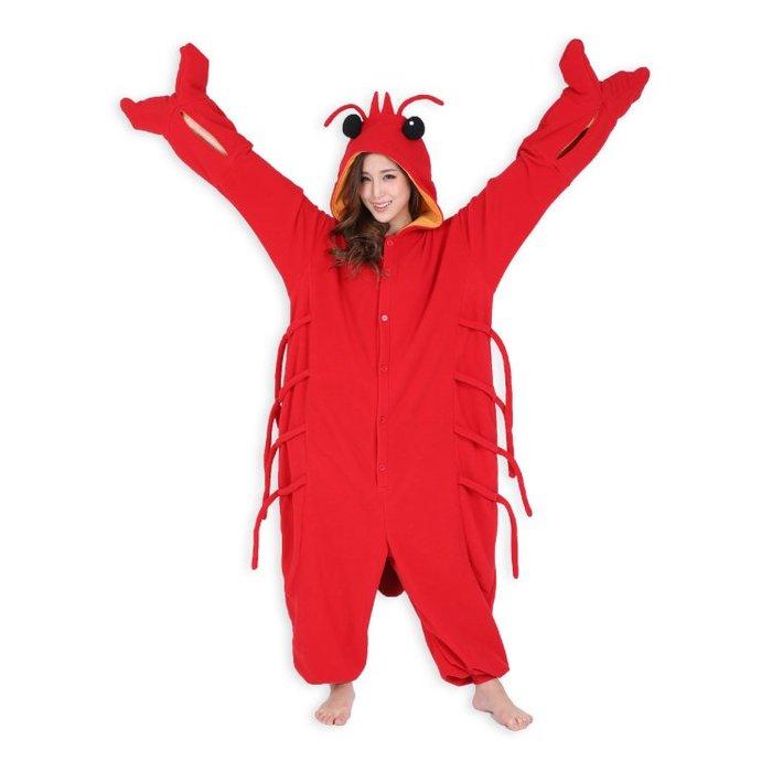 龍蝦 japan 表演服 睡衣 海洋動物(成人)MS-9701k