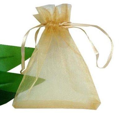 *婚禮包裝*15*20金色&紫素面雪紗袋各10~面膜包裝袋.防塵袋