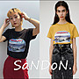 SaNDoN x 秋季新品 短袖MOUSSY IN THE DUCK...
