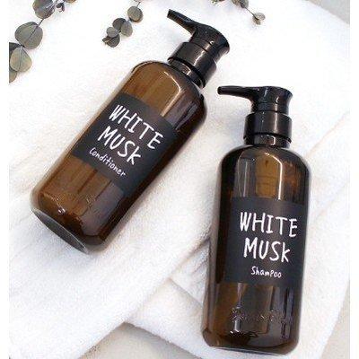 現貨~日本製 John's Blend 香氛洗髮精 潤髮乳 460ml 白麝香 茉莉麝香