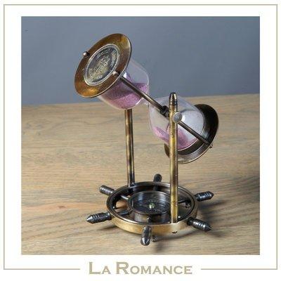 【芮洛蔓 La Romance】Globehome 系列 - 指南針沙漏 / 擺飾 / 書房 / 男士 / 紳士