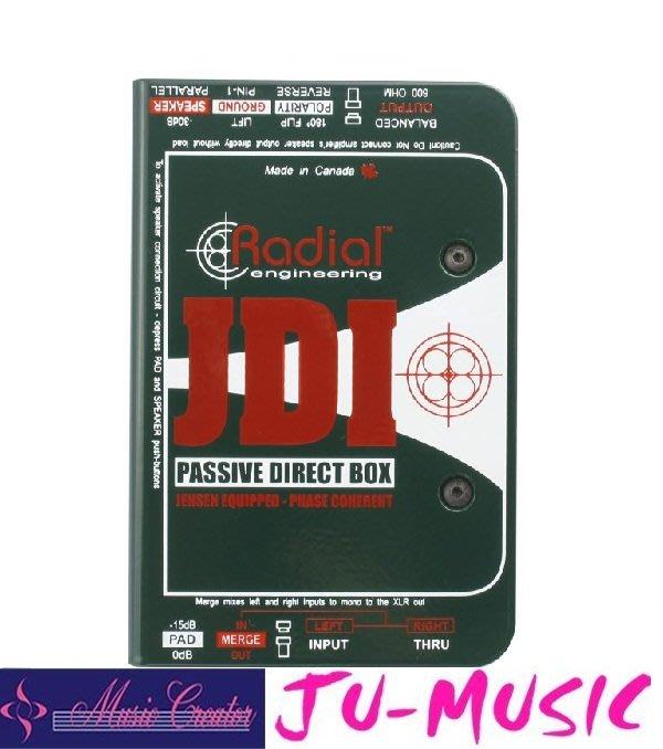造韻樂器音響- JU-MUSIC - Radial JDI Premium Passive DI 『公司貨,免運費』