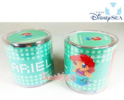 《東京家族》日本東京迪士尼Disney小美人魚公主愛麗兒-積木 樂高 公仔 玩偶 擺飾