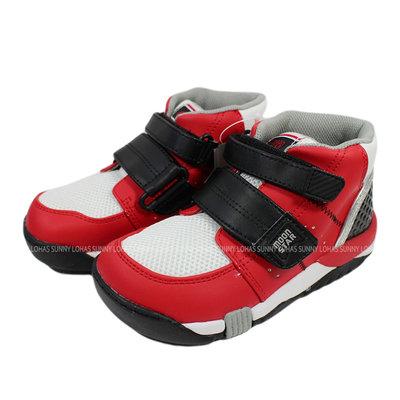 (BX) Moonstar 日本品牌 機能 抗菌 除臭 矯正鞋 中高筒 魔鬼氈 童鞋   CRC21402 [迦勒]