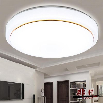 吸頂燈 LED亞克力圓形吸頂燈現代簡約...