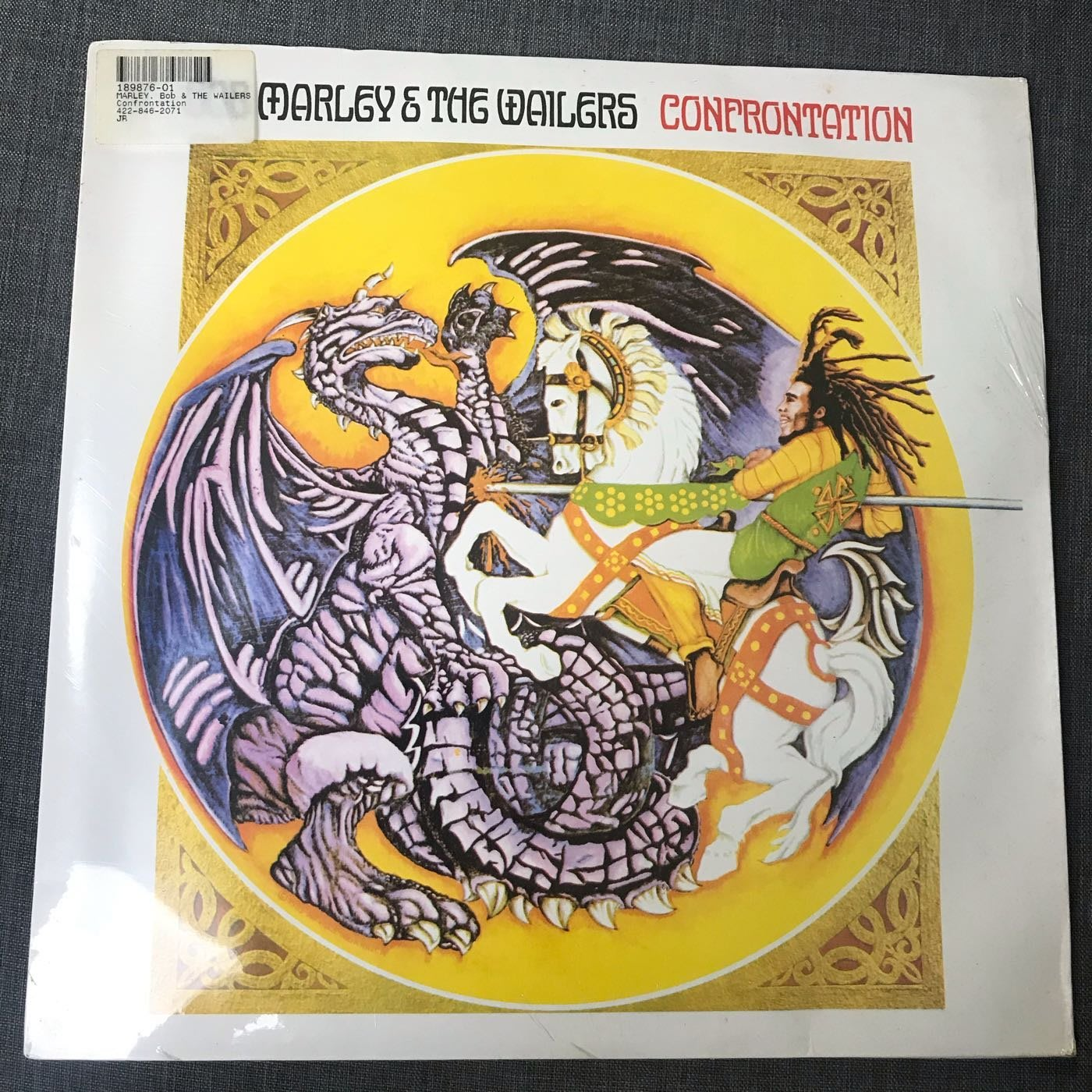 全新 未拆封 Bob Marley & The Wailers - Confrontation 黑膠
