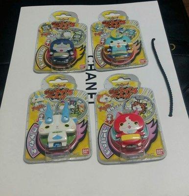 全新日本妖怪手錶掛飾,吊飾,機器喵,武士喵,單1件售價150元/最後2件特價出清