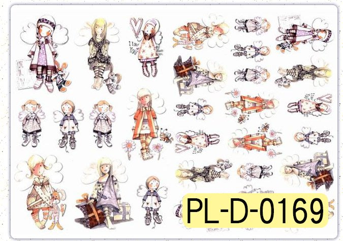 波蘭 Decoupage Paper編號PL-D-0169(專用紙)A3~蝶古巴特 餐巾紙拼貼 彩繪 黏土DIY手作材料