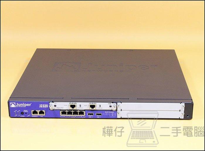 【樺仔二手電腦】Juniper Networks J2320-JB-SC 1G RAM 1G Flash Router