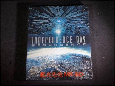 [3D藍光BD] - ID4星際重生 Independence Day : Resurgence 3D+2D 雙碟鐵盒版