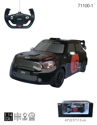 【KENTIM玩具城】限量版1:14 Mini Countryman JCW RX新款全新原廠授權RASTAR遙控車