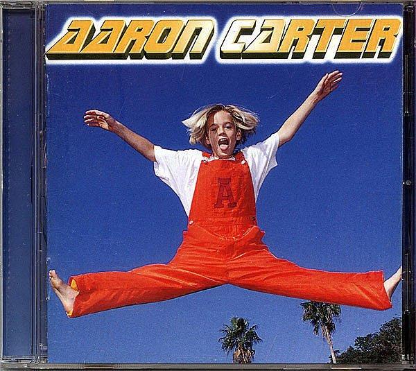 【塵封音樂盒】新好弟弟 亞倫卡特 Aaron Carter  同名專輯