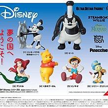 迪士尼 Medicom UDF 米奇 美人魚 維尼等 6款