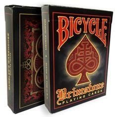 【USPCC撲克】Bicycle Brimstone playing cards red