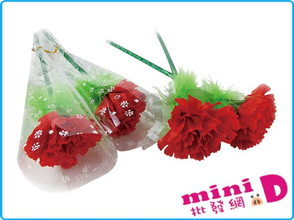 康乃馨(花束)原子筆 母親節 母親節花束  花束 禮物 文具批發【miniD】[900119012]