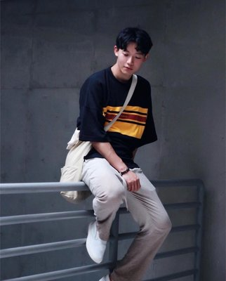 ISFN 18 S/S Dropped Shoulder Tee (Normcore Style)