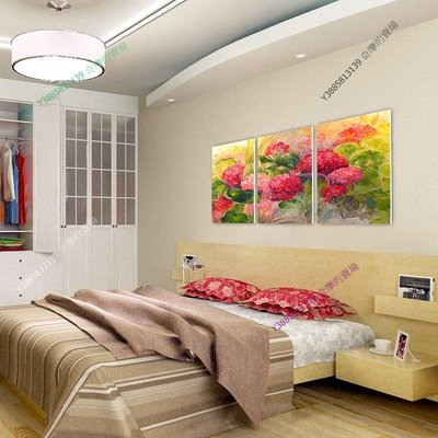 【70*70cm】【厚1.2cm】經典花卉-無框畫裝飾畫版畫客廳簡約家居餐廳臥室牆壁【280101_066】(1套價格)