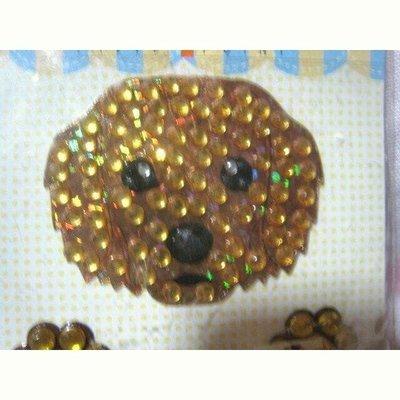 DIY購於日本黃金獵犬寵物貼紙可貼在杯子..任何地方3cmx2.5cm
