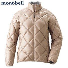 丹大戶外用品 日本【mont-bell】LT Alpine 女款羽絨外套1101360-PKBG 香檳粉