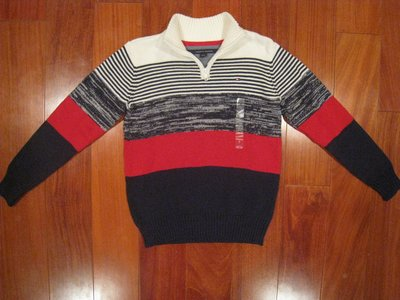 Tommy Hilfiger男童毛衣  尺寸7歲