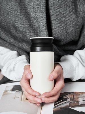 茶具 水壺 馬克杯 玻璃杯 日式簡約不銹鋼保溫杯情侶隨行杯女隔熱便攜杯學生韓版過濾泡茶杯清新
