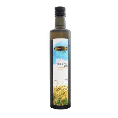 MACRO 100%玄米油/ 750ml(超高榖維素1萬)