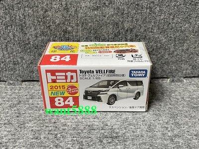 84 豐田 TOYOTA VELLFIRE 頂級休旅車 初回特別仕樣 多美小汽車 TOMICA