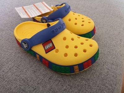 正品 C家兒童樂高洞洞鞋
