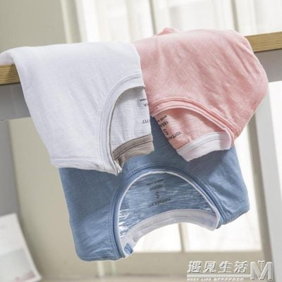 夏季竹節棉短袖t恤男寬鬆拼色圓領純棉短袖體恤 青年純色打底衫潮    全館免運