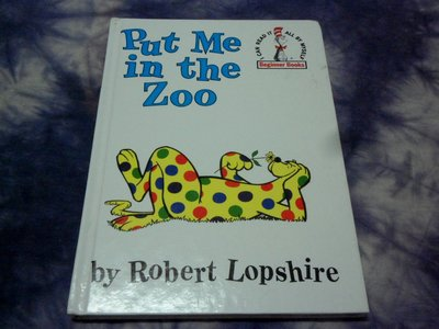 【兩手書坊pj3】英文童書~Beginner Books~Put Me in the Zoo+Go,Dog.Go!共2本