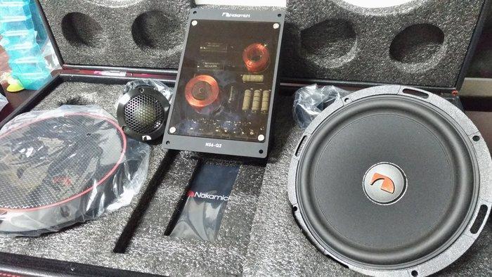 [樂克影音] 日本中道 Nakamichi NS6-Q2 6.5吋二音路分音喇叭