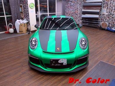 Dr. Color 玩色專業汽車包膜 Porsche 911 GT3 全車包膜改色 (3M 1080_S336)