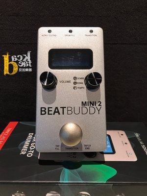 [反拍樂器] Singular Sound BeatBuddy MINI2 踏板式 鼓機 節奏機 街頭藝人 公司貨 免運