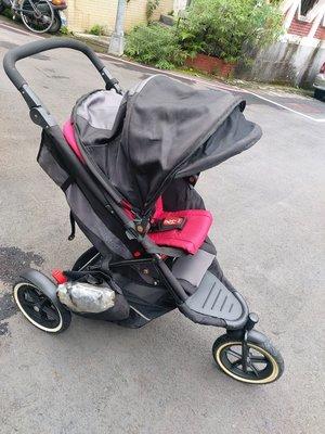 ((拍賣就是要撿便宜))二手商品一phil  & teds explorer 嬰兒手推車