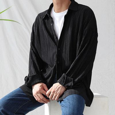 KOREALINE搖滾星球 / 高質感百褶襯衫 / 3色 / HNT5847