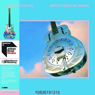 爆款CD.唱片~恐怖海峽 Dire Straits Brothers In Arms 2LP 黑膠唱片 45轉